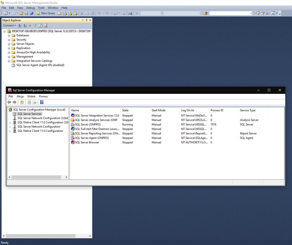 Kursy Online SQL Server Bazy Danych Microsotf SSMS Andrzej Śmigielski