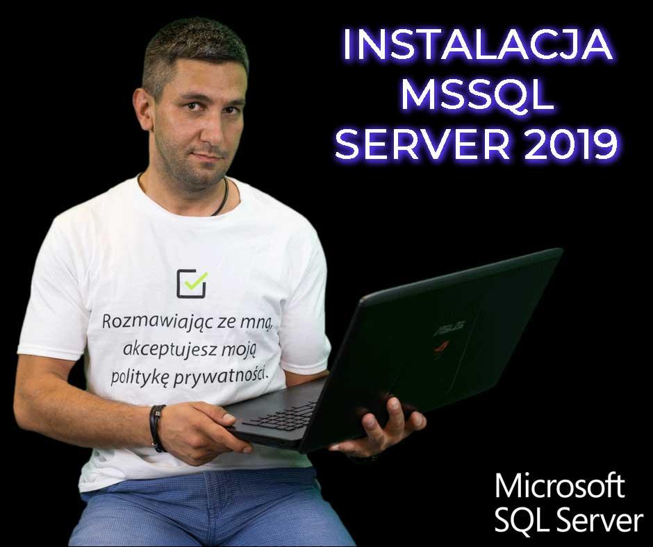 Kursy Online SQL Server Bazy Danych Microsotf Instalacja SSMS Andrzej Śmigielski